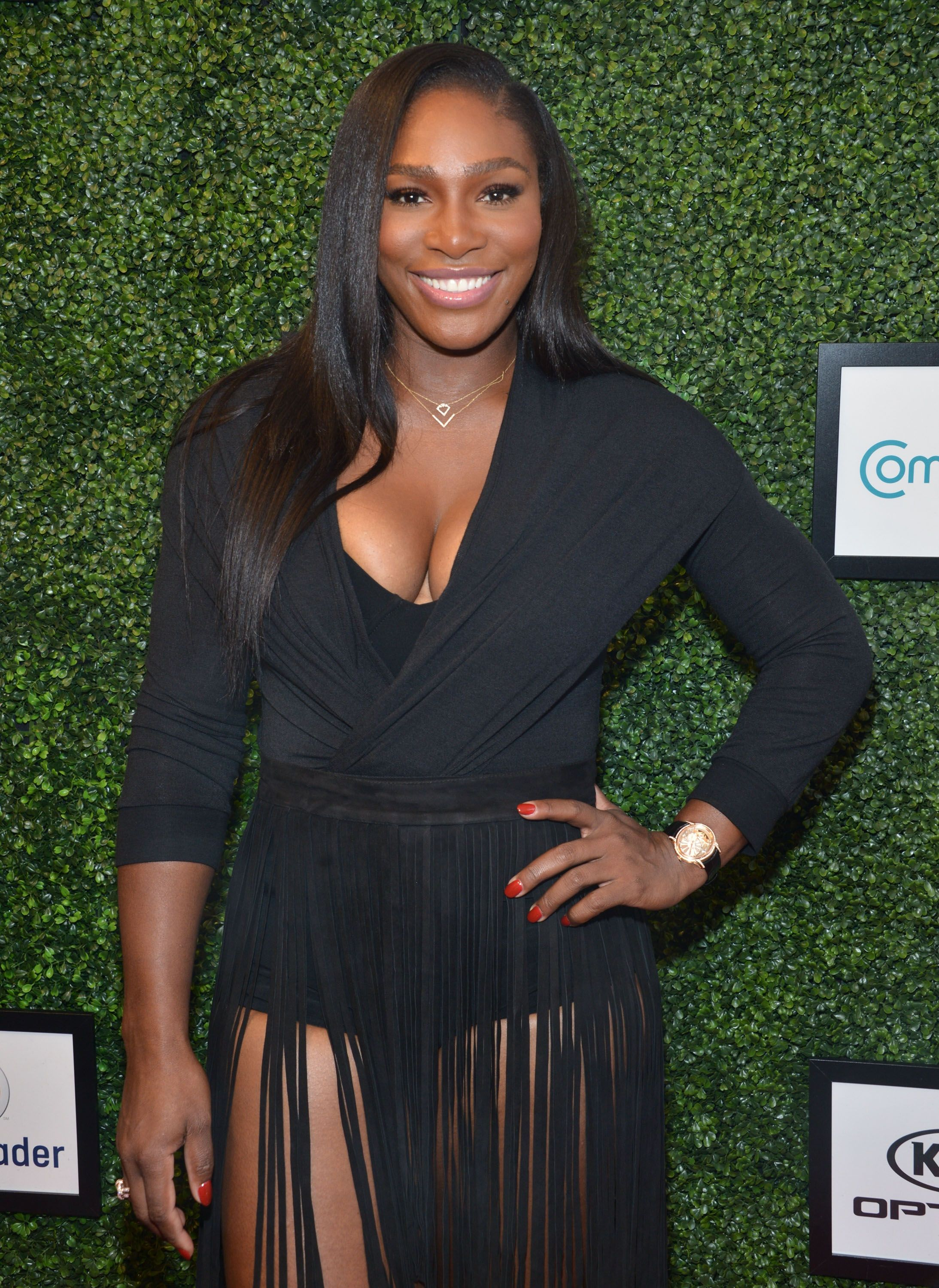 Serena Willams at the Serena Williams Signature Statement show on September 15, 2015.    Photo: Getty Images