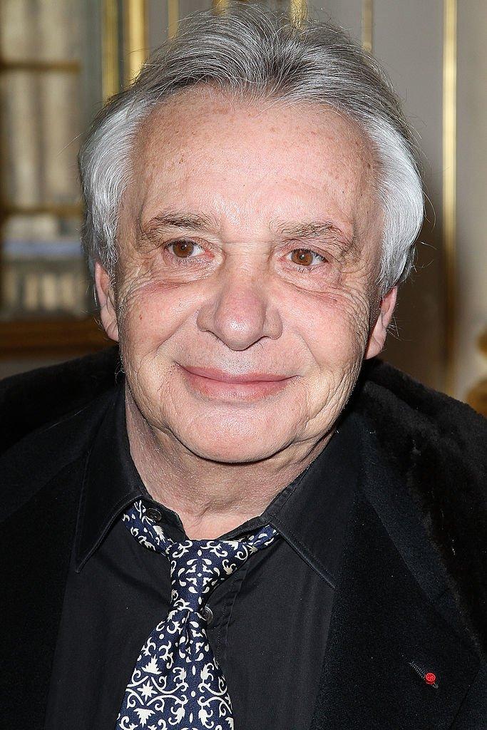 Le chanteur Michel Sardou. l Source: Getty Images
