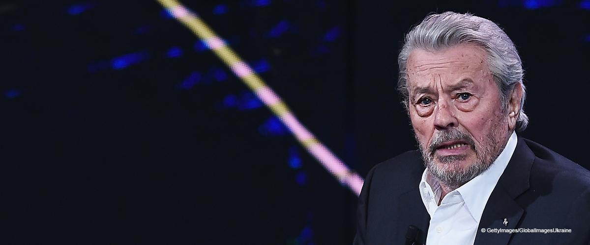 Alain Delon, bouleversé, parle de l'AVC de Jean-Paul Belmondo