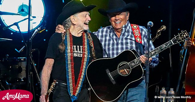 Willie Nelson and George Strait bewitched fans, singing together for the first time