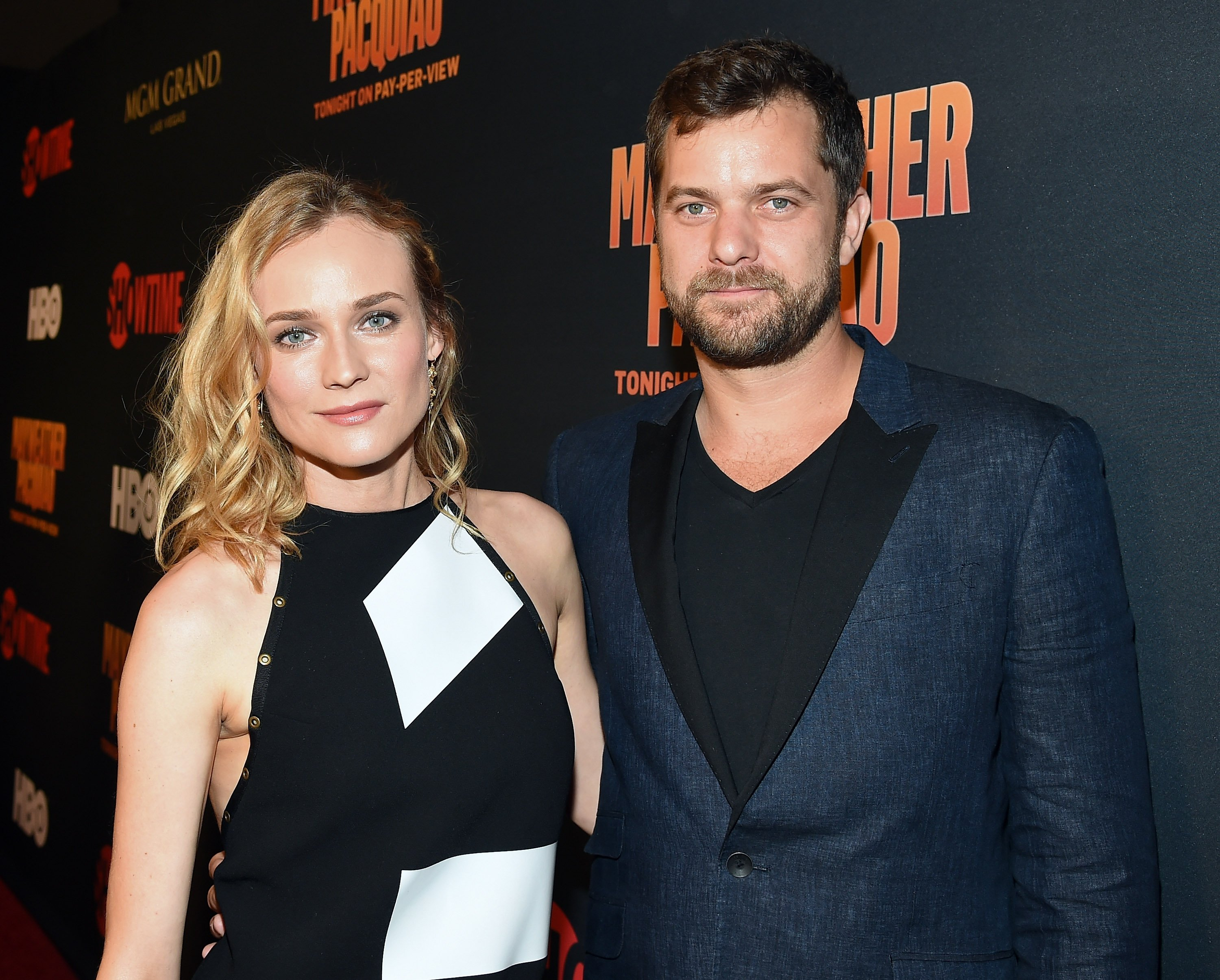 Joshua Jackson and Diane Kruger attend the SHOWTIME And HBO VIP Pre-Fight Party for 'Mayweather VS Pacquiao' at MGM Grand Hotel & Casino in Las Vegas, Nevada | Photo: Getty Images/GlobalImagesUkraine