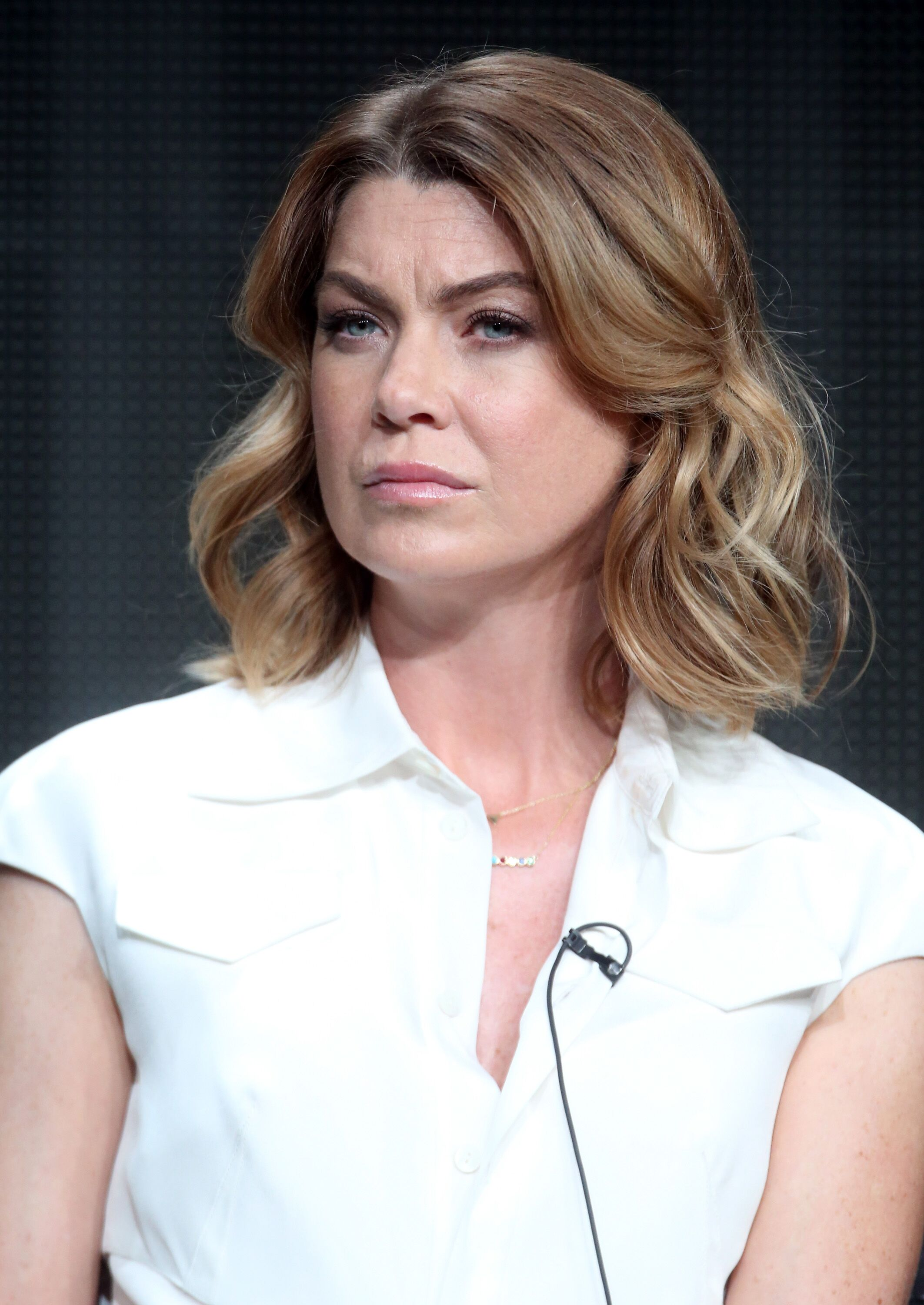 Ellen Pompeo at the 2015 Summer TCA Tour on August 4, 2015. | Source: Getty Images
