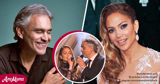 Do you remember this stunning performance of J-Lo and Andrea Bocelli?