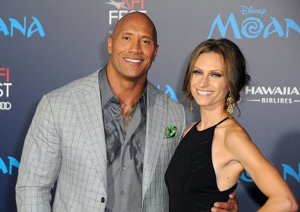 Actor Dwayne Johnson and Lauren Hashian attend AFI FEST 2016 Presented By Audi - Premiere of Disney's 'Moana' at the El Capitan Theatre on November 14, 2016 in Hollywood, California | Photo: Getty Images