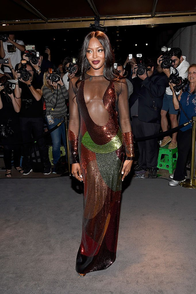 Naomi Campbell at Tom Ford fashion show during New York Fashion Week on September 7, 2016 | Photo: GettyImages
