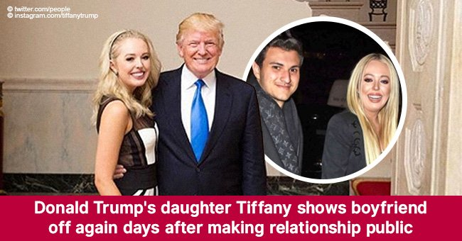 Donald Trump's daughter Tiffany shows boyfriend off again days after making relationship public