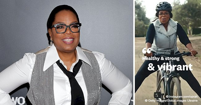 Oprah Winfrey flaunts slimmer body in tight jumpsuit after losing 42 pounds