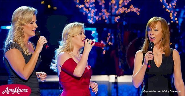 Trisha, Kelly, and Reba once sang together and their performance still charms fans