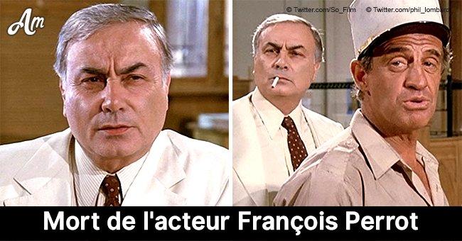 L'acteur François Perrot, vedette des comédies emblématiques, est décédé à l'âge de 94 ans