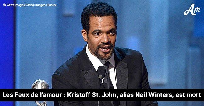 """Le visage incontournable des """"Feux de l'amour"""", l'acteur Kristoff St John est décédé à l'âge de 52 ans"""