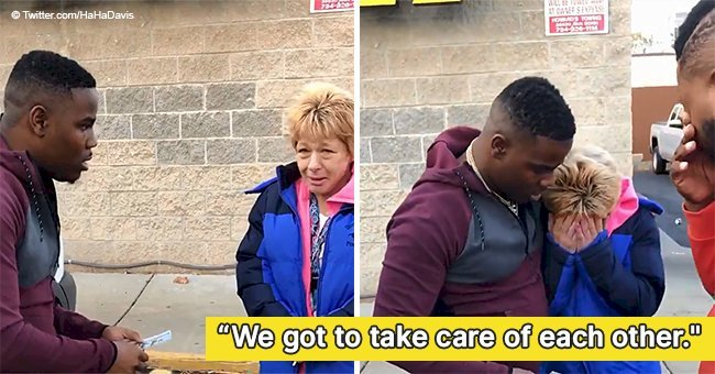 Strangers who gave struggling woman cash after paying pennies for her gas still melts hearts