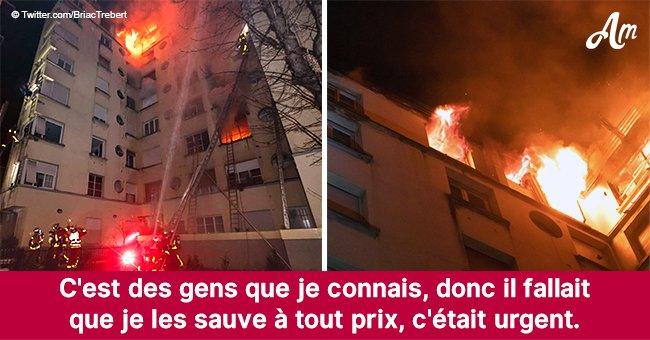 Un policier se blâme pour un incendie mortel à Paris : 'Je n'ai pas pu sauver tout le monde'