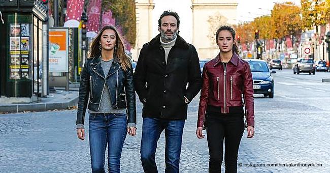 Anthony Delon, un père affectueux : Découvrez Loup, Liv et Alyson, ses trois ravissantes filles