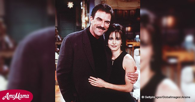 Courteney Cox and Tom Selleck give us a brilliant Christmas gift in the form of a mini-reunion