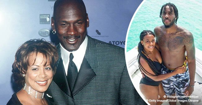 Michael Jordan & ex Juanita Vanoy's daughter steals hearts with sweet photos of fiancé on his b-day