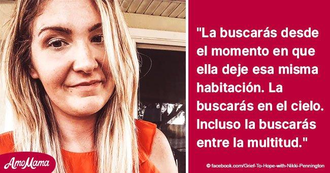 Mujer comparte desgarradora historia de cómo es la vida tras perder a su madre