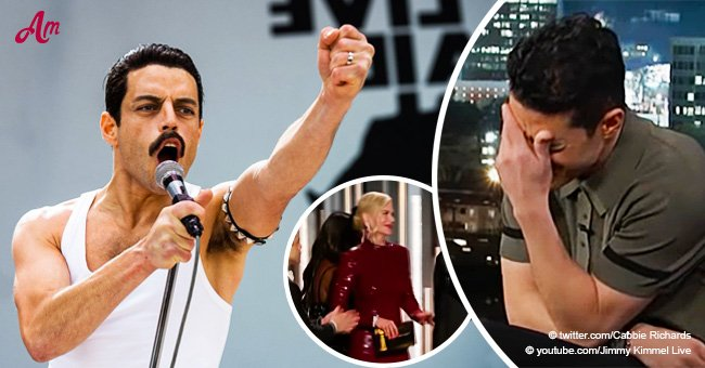 'Bohemian Rhapsody' star's first reaction to 'very awkward' snub from Nicole Kidman is pure gold
