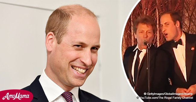 Video of Prince William singing with Bon Jovi has resurfaced and it's glorious