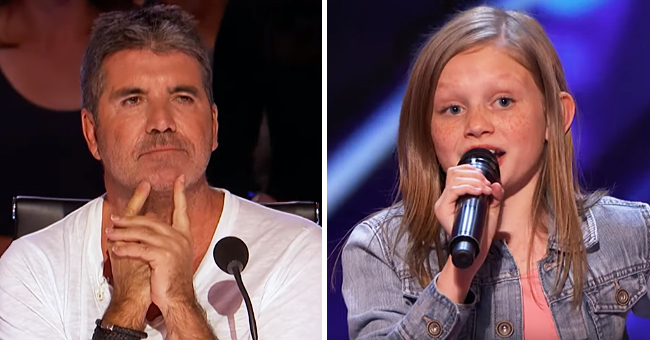 Simon Cowell Asks Ansley Burns, 12, to Sing Aretha Franklin's Hit without a Backing Track on AGT (Video)