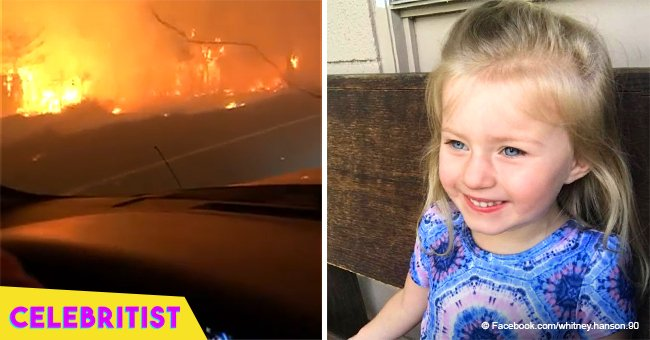 Video of dad singing to daughter, 3, to calm her during California wildfire went viral in 2018