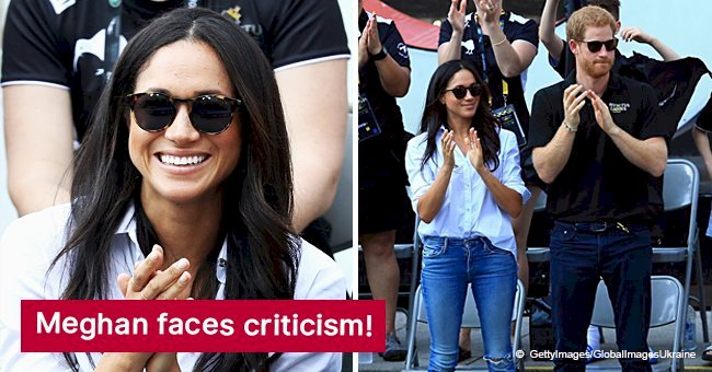Meghan Markle savagely criticized for wearing ripped jeans and 'slobbish' shirts