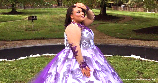 Indiana Teen Honors Late Brother with Unique Prom Dress Design