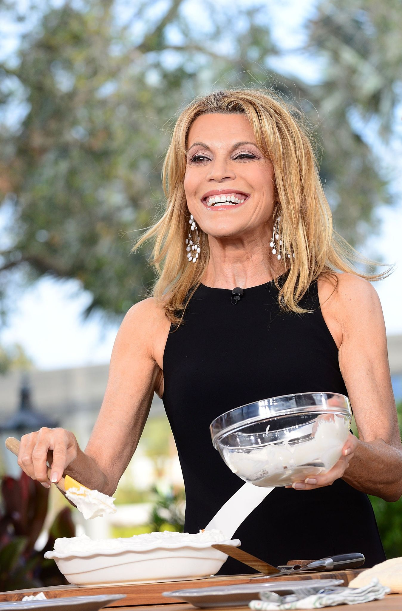 Vanna White attends 'The Chew' TV show during a broadcasts from the 22nd Epcot International Food & Wine Festival at Epcot Center  l Getty Images