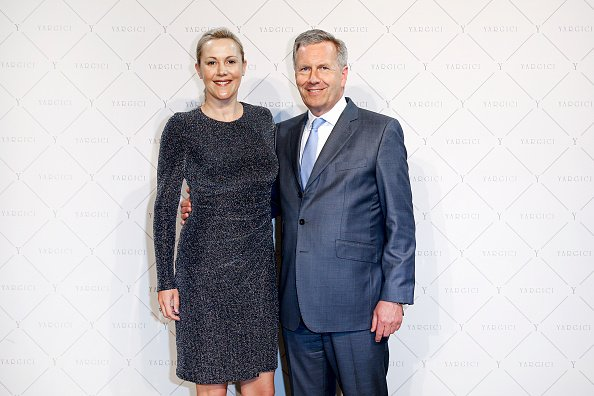 Christian und Bettine Wulff, Ladeneröffnung, Yargici Flagship, Hamburg, 31. März 2017 | Quelle: Getty Images