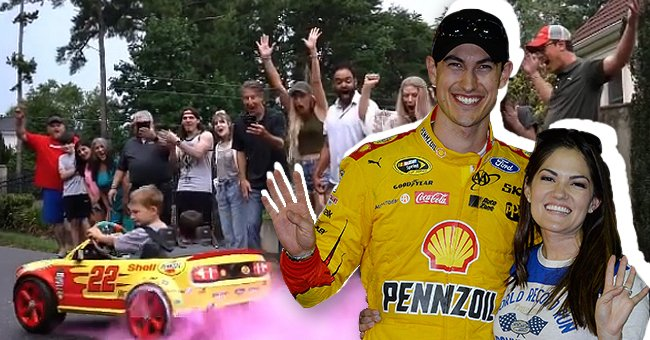 NASCAR Star Joey Logano's Wife Expecting 3rd Child — Get to Know the Gorgeous Brittany Logano