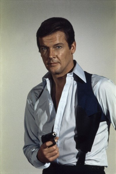 Roger Moore as James Bond from the movie Live and Let Die.| Photo: Getty Images