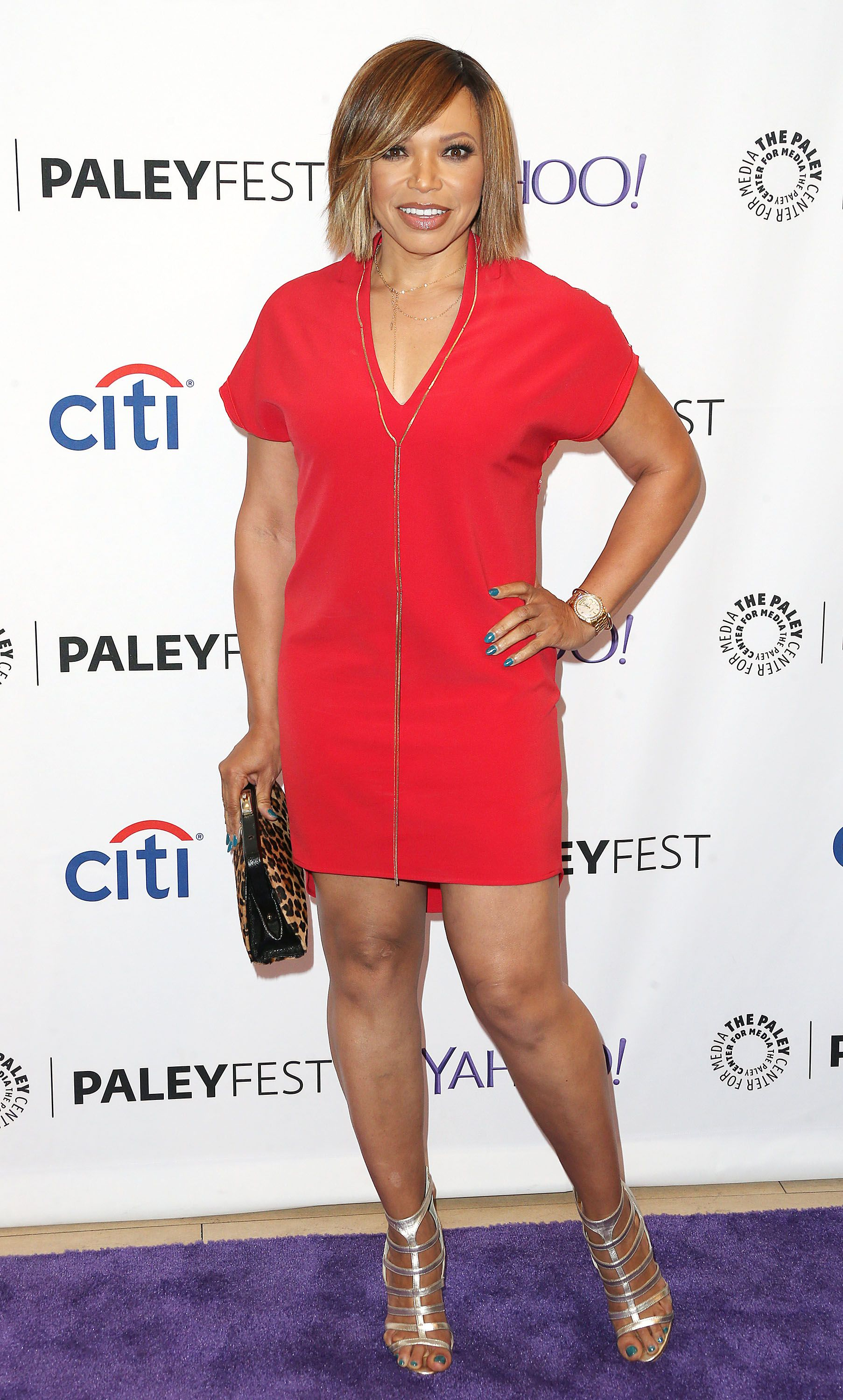 Tisha Campbell-Martin at The Paley Center for Media's PaleyFest on September 12, 2015 in Beverly Hills. | Photo: Getty Images