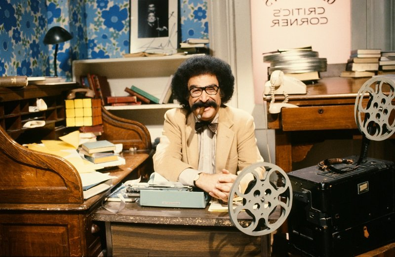 """Gene Shalit on NBC News' """"Today"""" in 1982   Photo: Getty Images"""