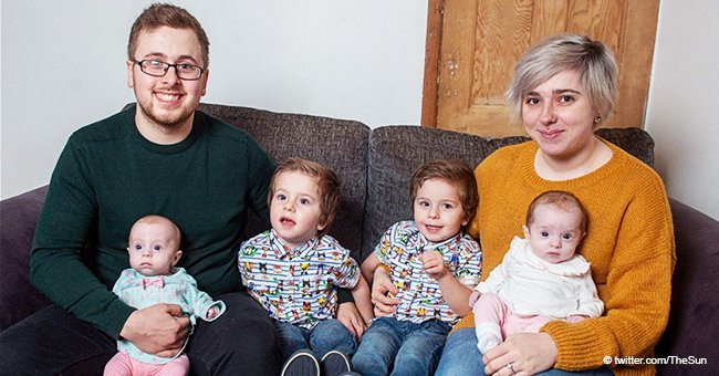 Stunned Young Couple Reveals What It's like to Have Surprise Twins for the Second Time