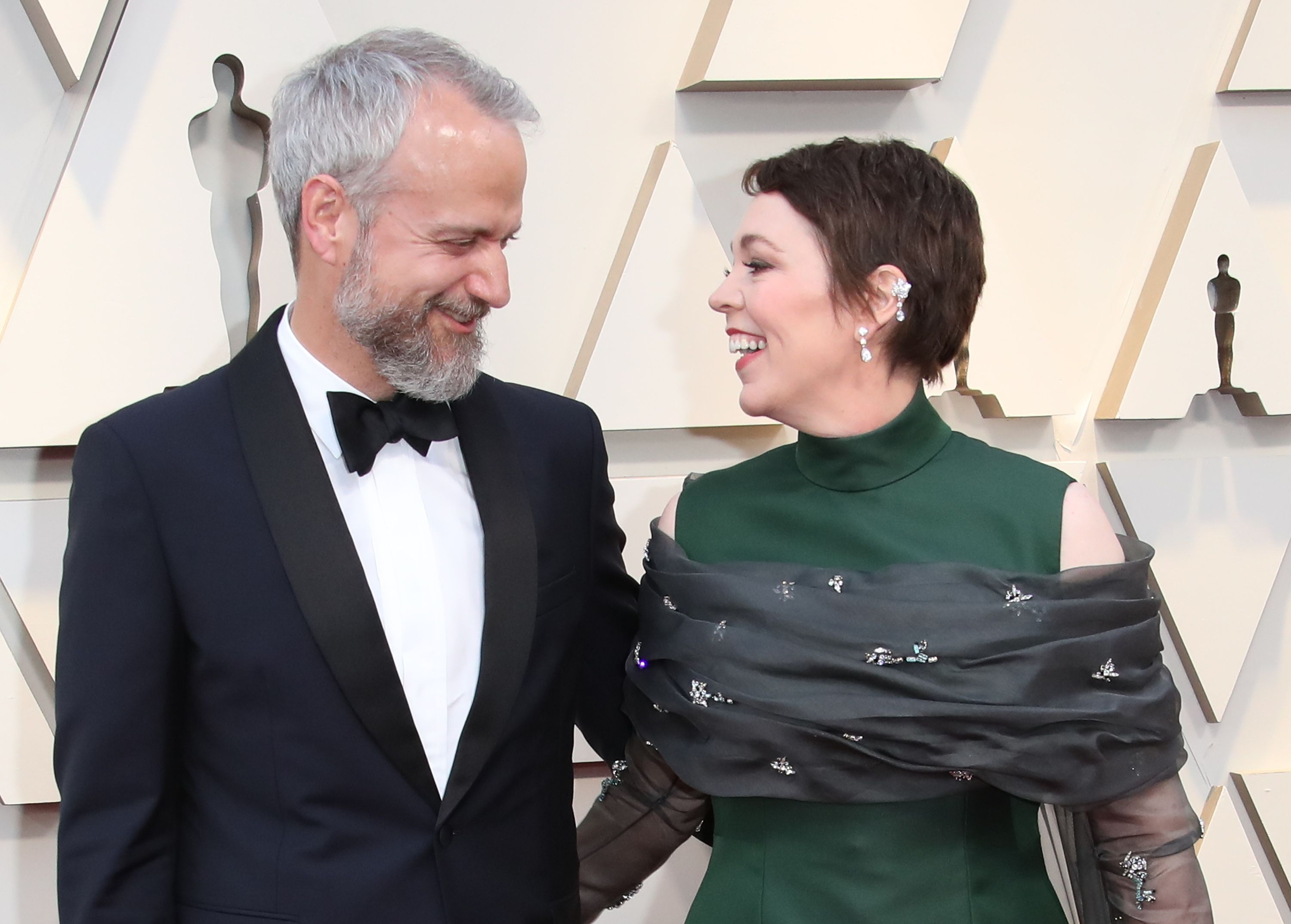 Ed Sinclair and Olivia Colman during the 91st Annual Academy Awards at Hollywood and Highland on February 24, 2019 in Hollywood, California. | Source: Getty Images