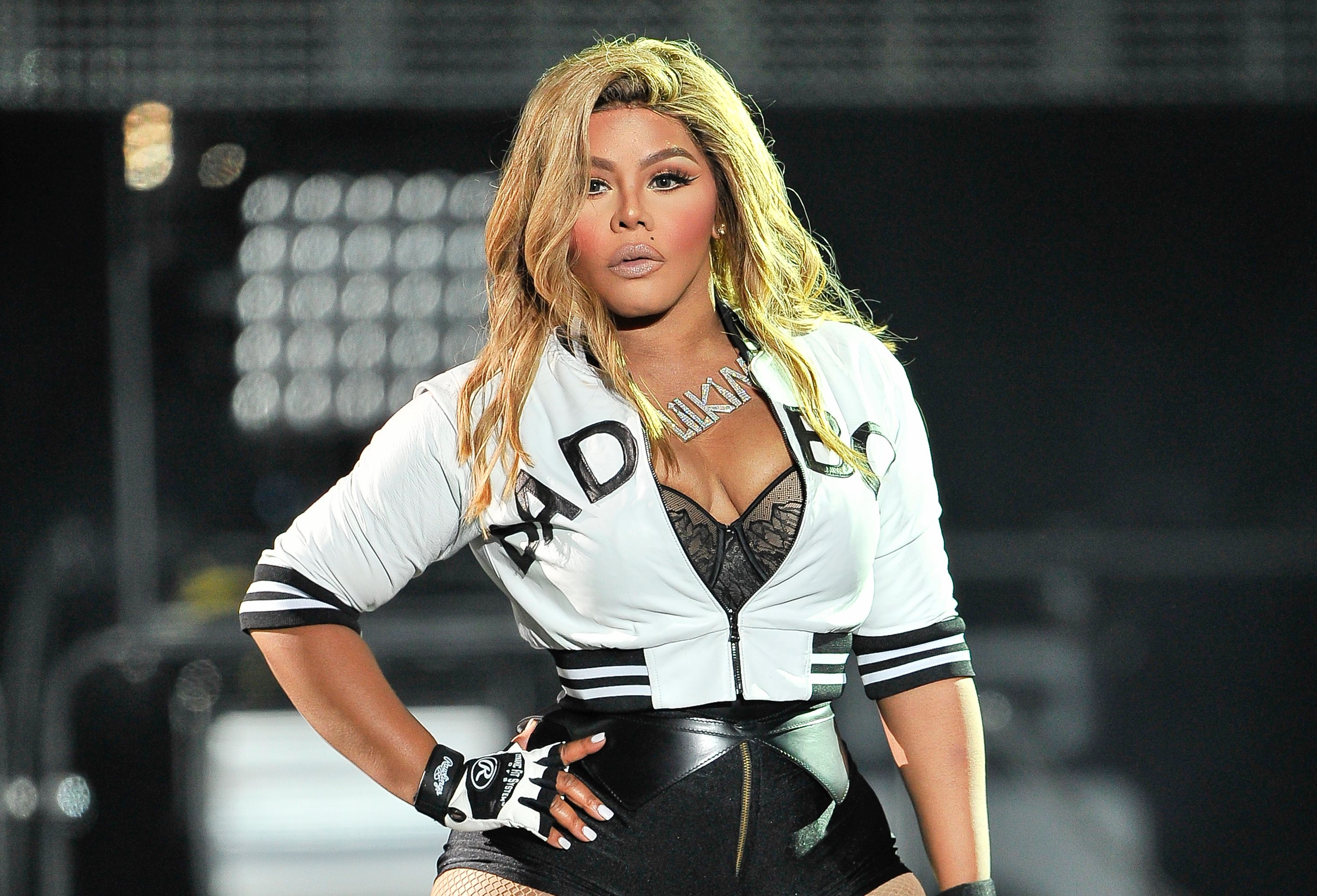 Lil' Kim performing at the Bad Boy Family Reunion Tour in 2016 in Oakland, California | Source: Getty Images