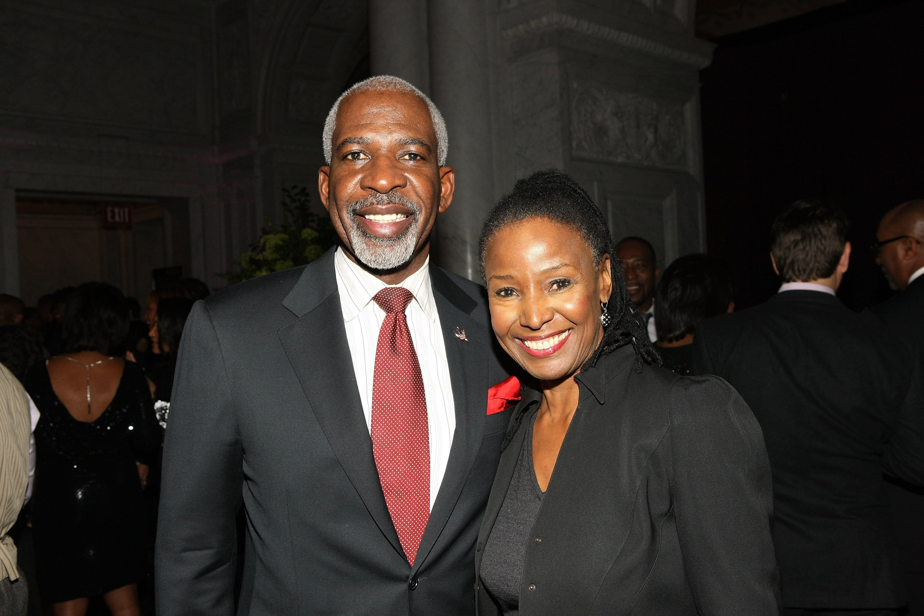 Dan Gasby and B. Smith attend BET Honors 2013 | Getty Images