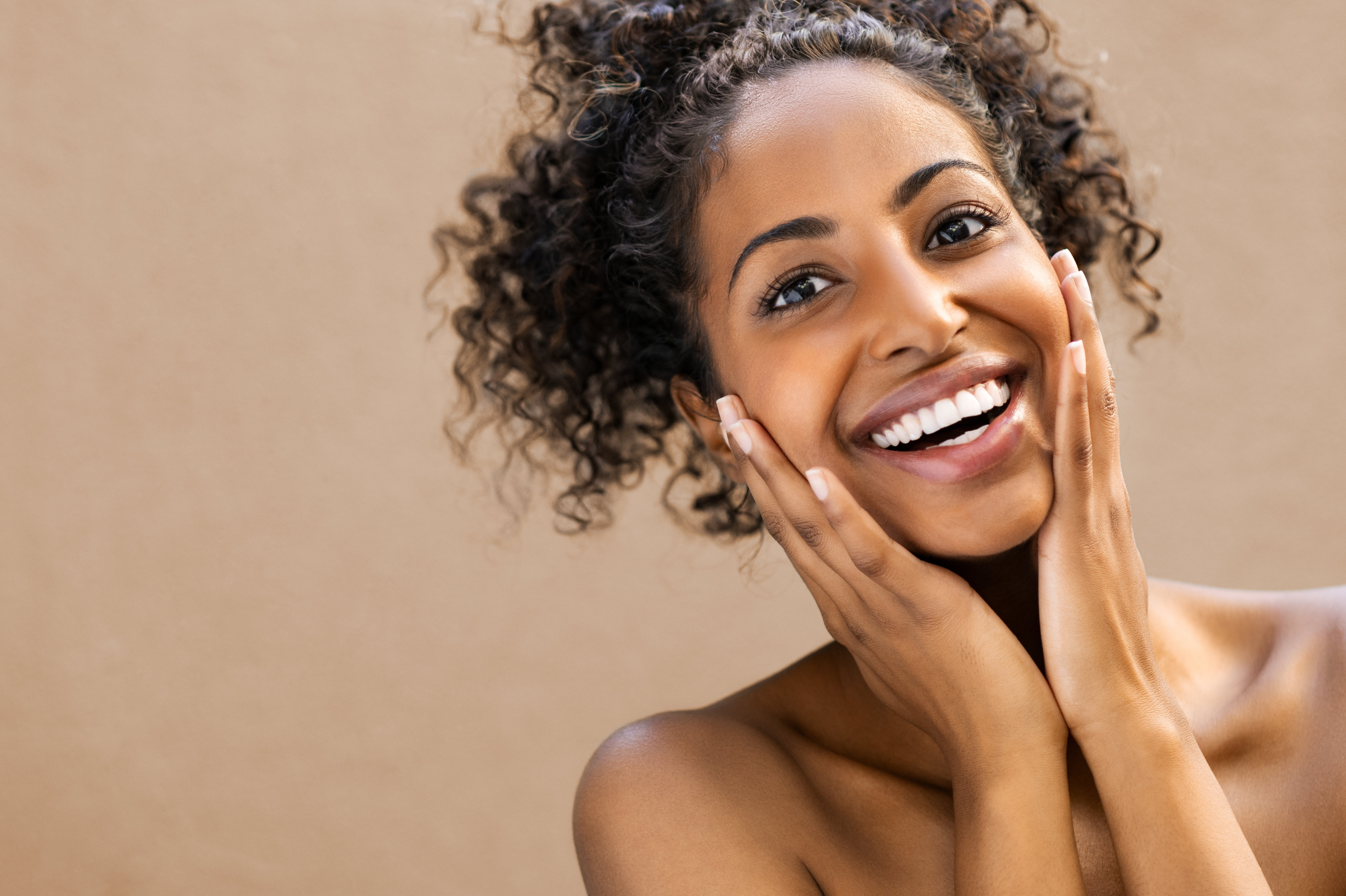 Woman with clear skin | Shutterstock