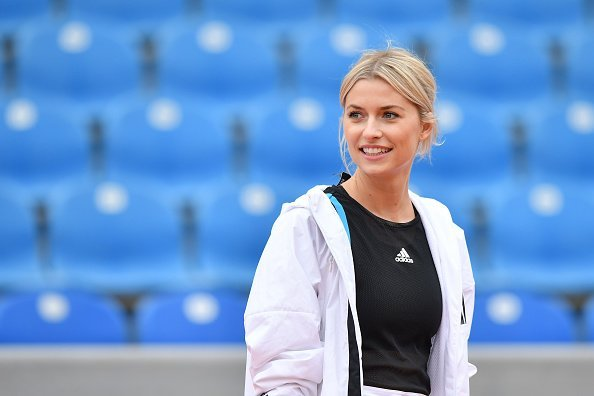 Lena Gercke, BWM Open, München, 2019 | Quelle: Getty Images