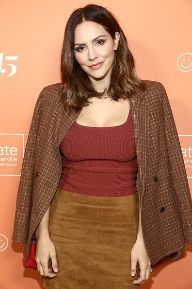 Katharine McPhee at The Kate Somerville Clinic's 15th Anniversary Party in Los Angeles, California. | Photo: Getty Images.