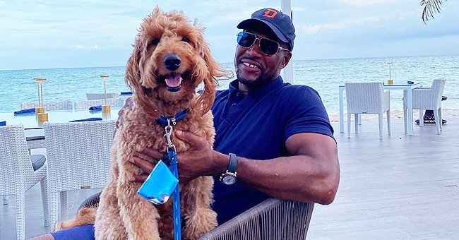 Michael Strahan Celebrates His Dog Enzo's 4th Birthday – Check Out Their Cute Photos