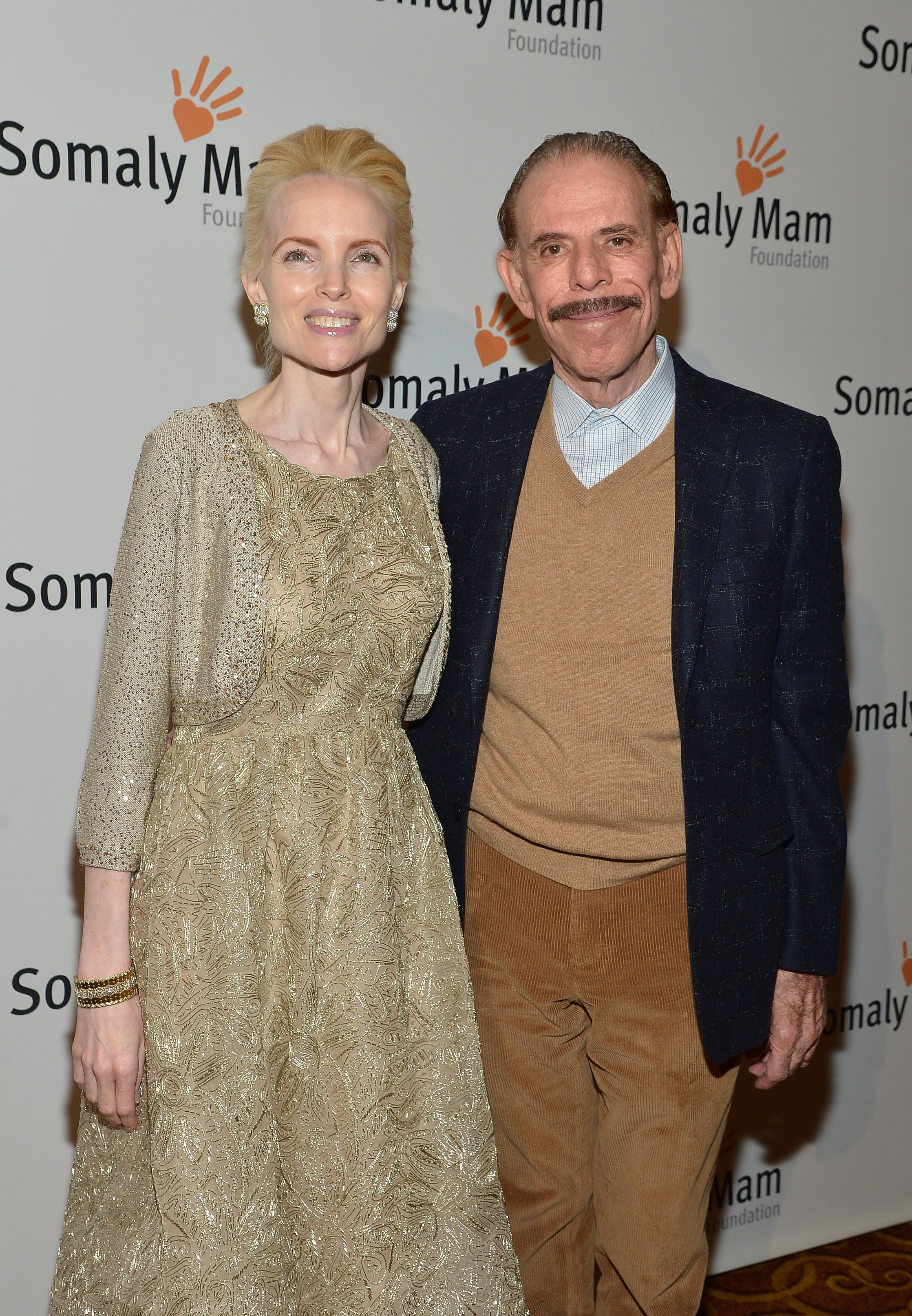 Photo of Peter Max and Mary Max | Photo: Getty Images