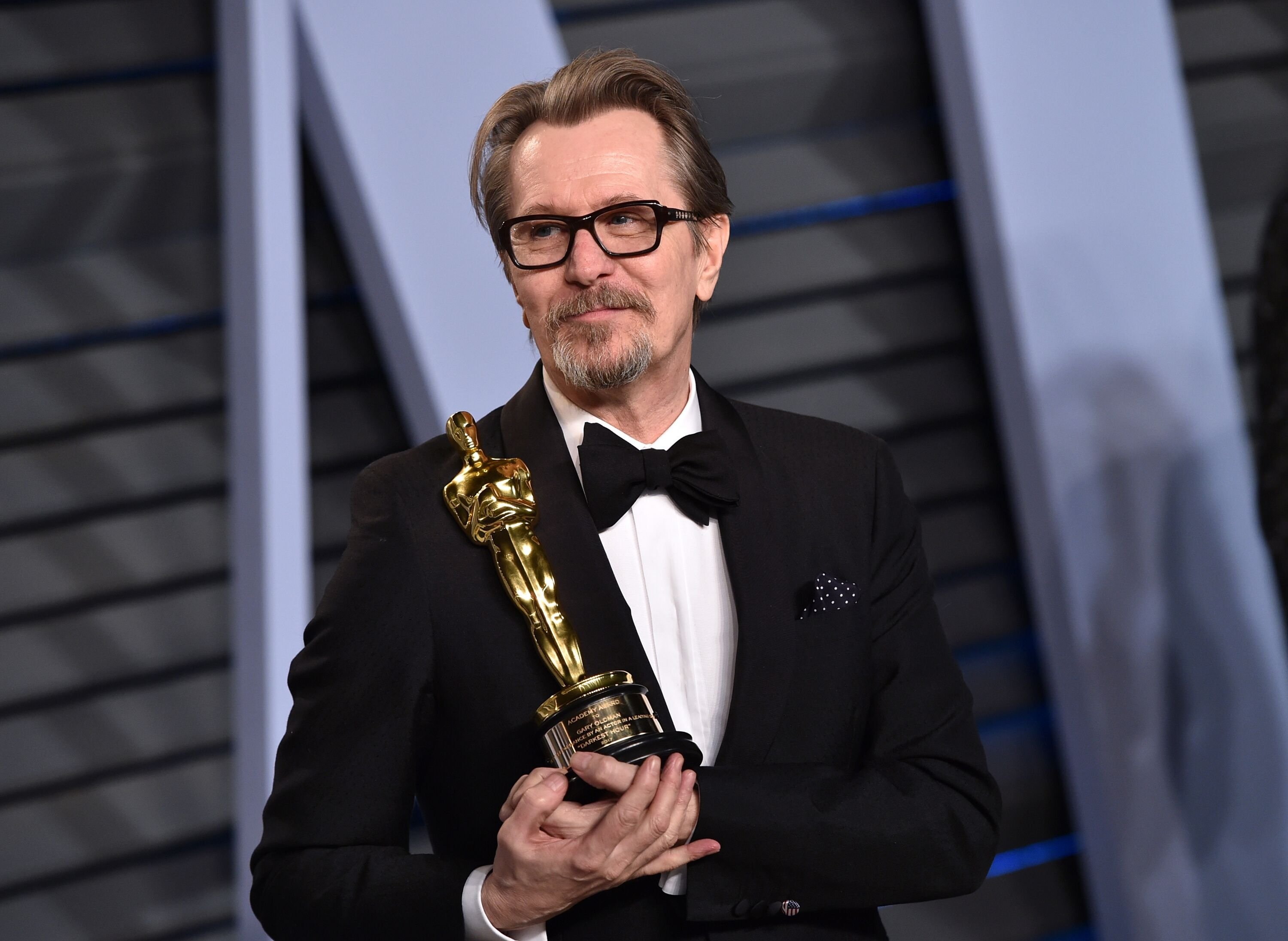 Gary Oldman attends the 2018 Vanity Fair Oscar. | Source: Getty Images