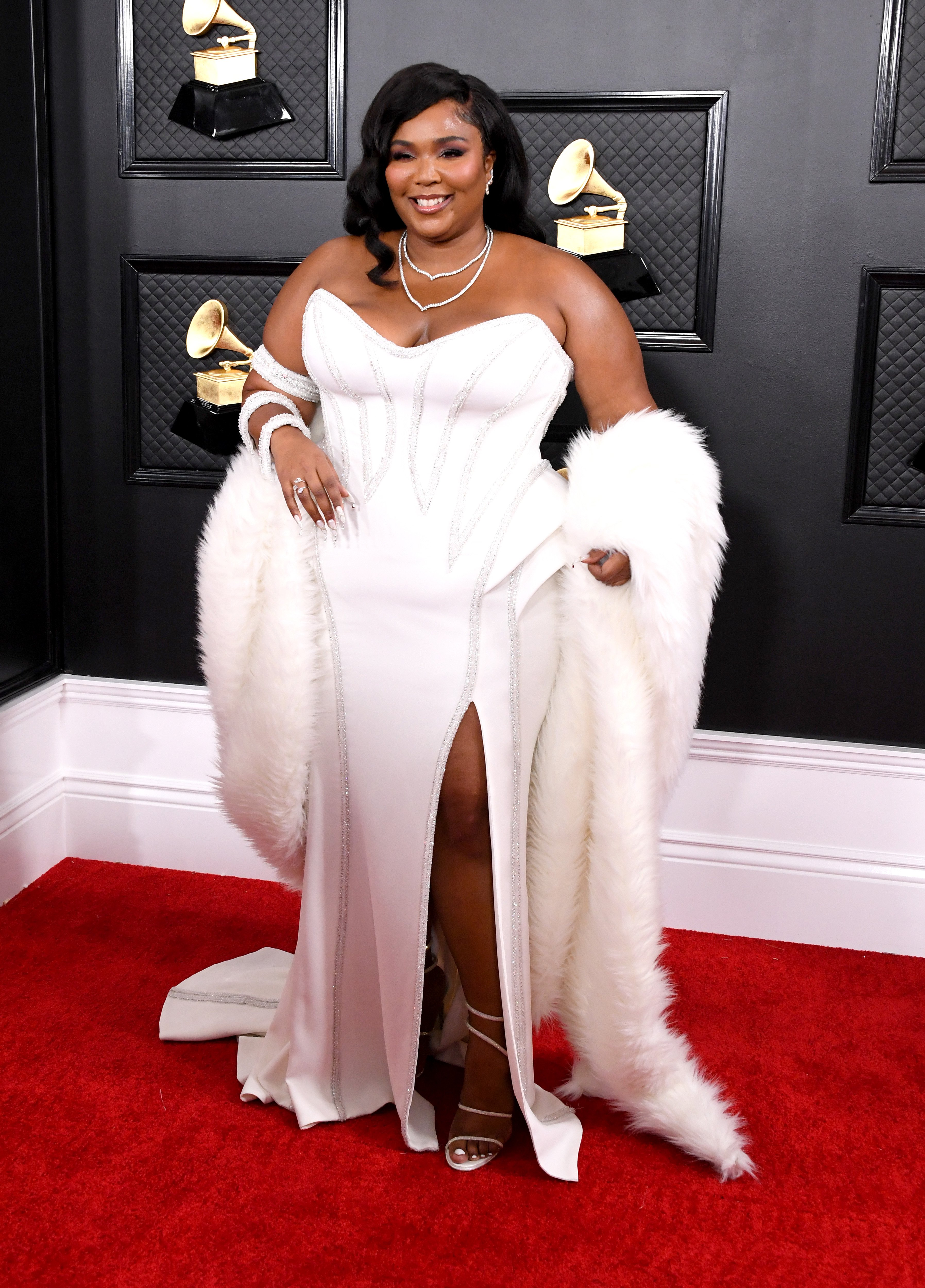 Lizzo attends the 62nd Annual GRAMMY Awards at Staples Center on January 26, 2020 in Los Angeles, California.   Source: Getty Images