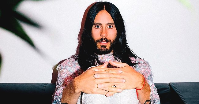 Jared Leto Sends Good Vibes to Fans in an Unbuttoned Shirt Selfie