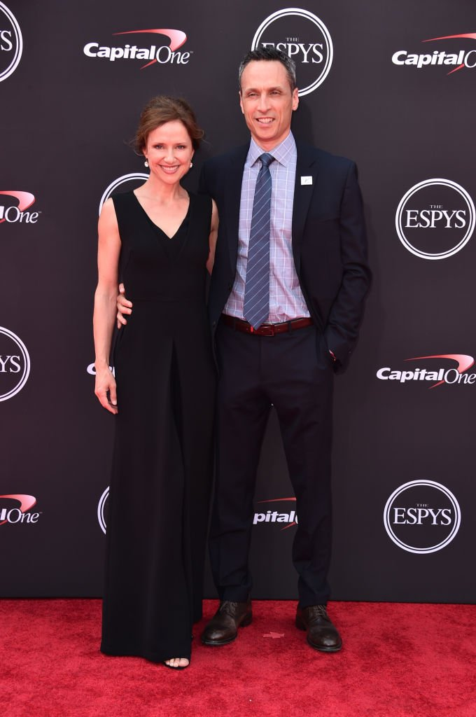 Jimmy Pitaro and wife Jean Louisa Kelly attend The 2018 ESPYS, | Source: Getty Images