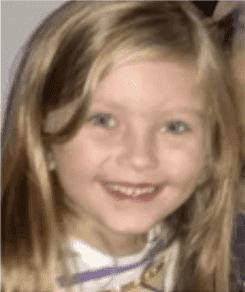 Cassidy Rodery, la segunda hija de Aubrianne Moore | Foto: YouTube / Noticias en vivo ahora