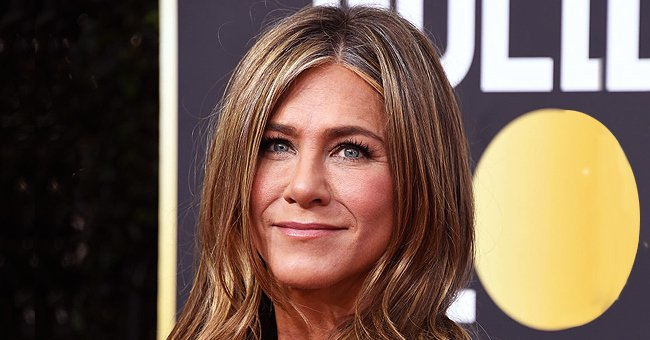 Jennifer Aniston at the 77th Annual Golden Globe Awards on January 5, 2020 in Beverly Hills, California.   Photo: Getty Images