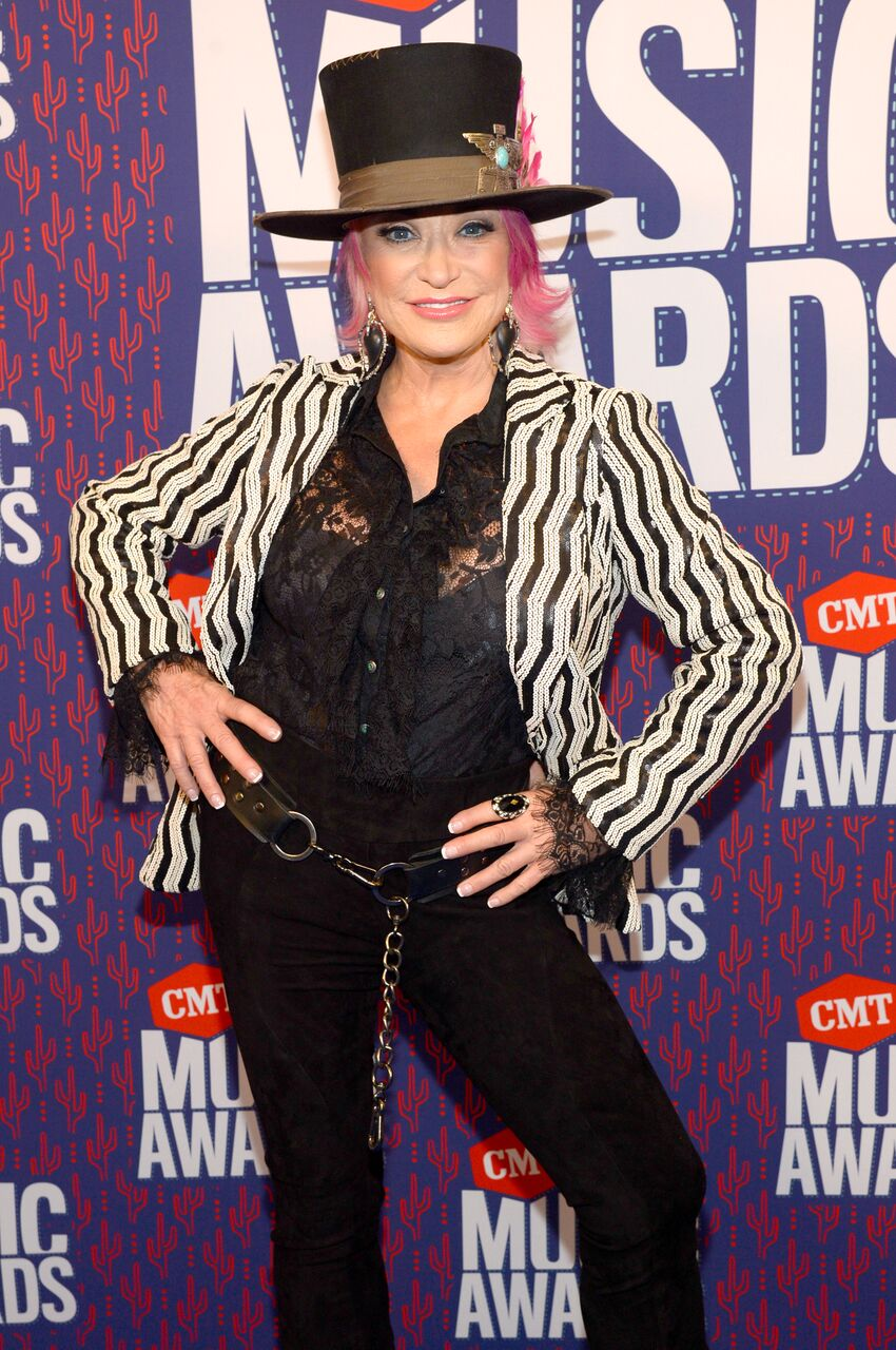Tanya Tucker at the CMT Music Awards. | Source: Getty Images