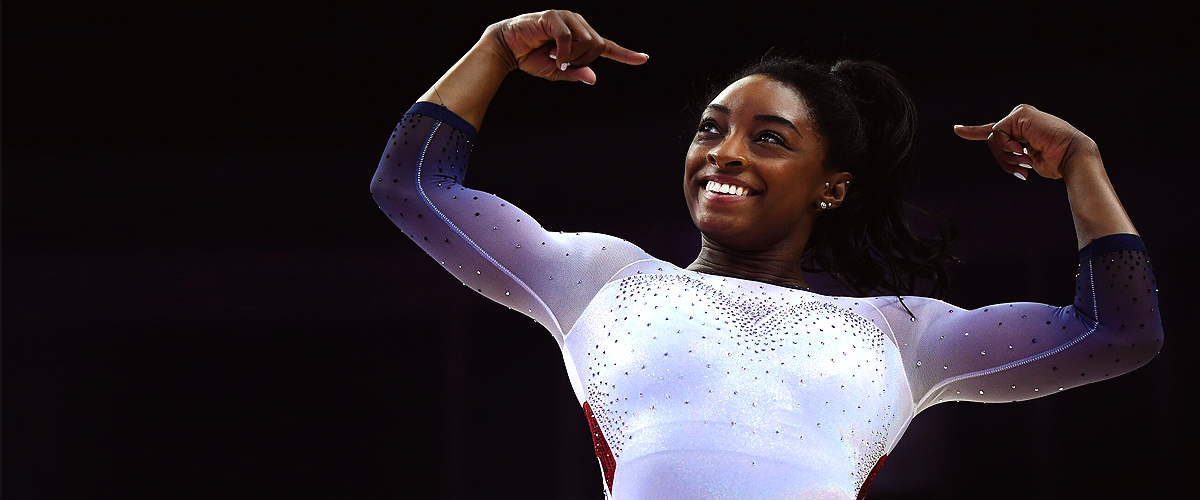 Olympic Champion Simone Biles Makes History with Never-Seen-Before Double-Double Dismount