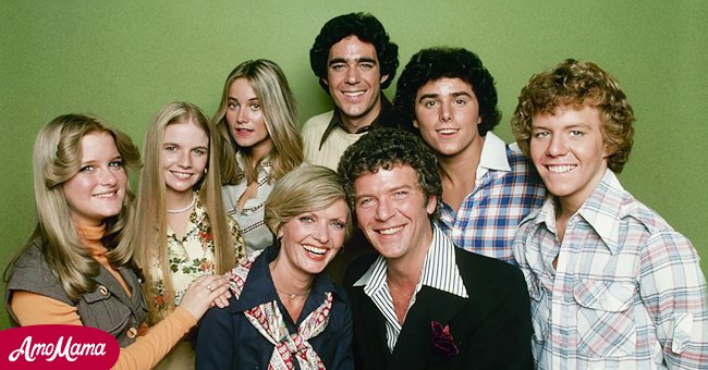 """""""The Brady Bunch"""" cast including Florence Henderson, Barry Williams and Maureen McCormick   Photo: Getty Images"""